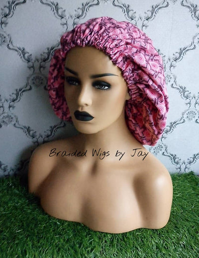 Jay6 African Print Satin Bonnet - Braided Wigs by Jay