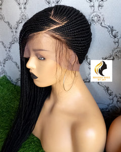 Lemonade Braids Wig - Braided Wigs by Jay