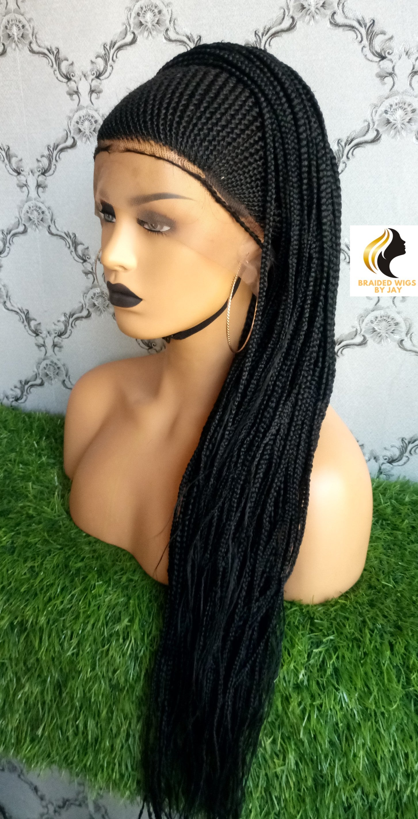 Hauwa Braids Wig - Braided Wigs by Jay