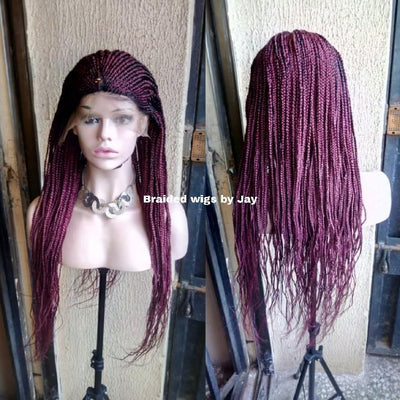 Kiki Braided Wig - Braided Wigs by Jay