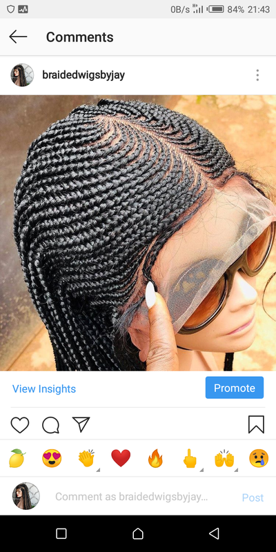 Fola Braids Wig - Braided Wigs by Jay
