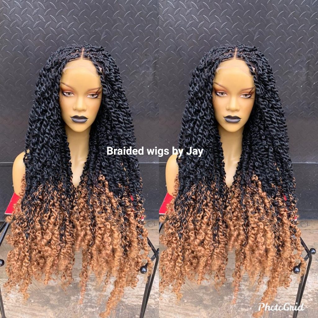 Passion Twist Braided Wig