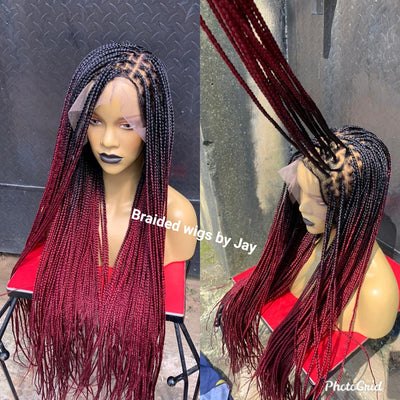Knotless Royalty2  Braids Wig