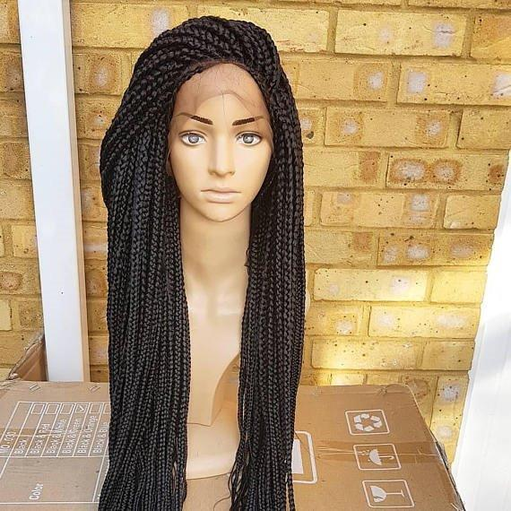 Bella Box braided wig (lace frontal) - Braided Wigs by Jay