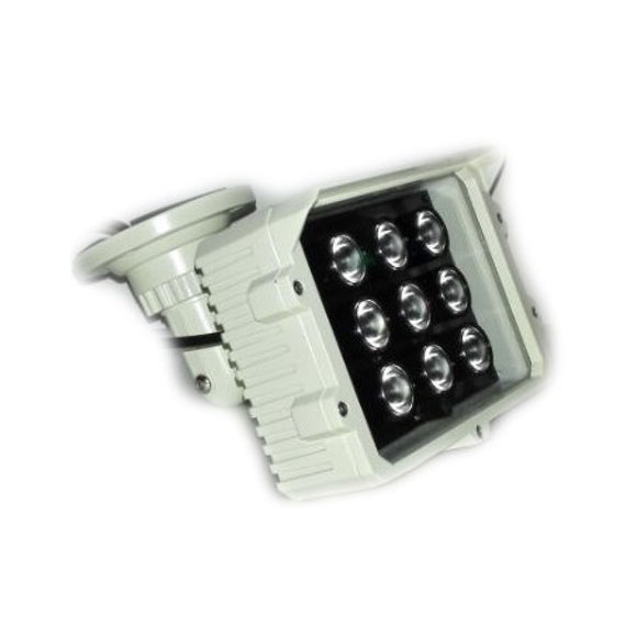 CMVision IR9 WideAngle 60-80 Degree 9pc Power LED IR Array Illuminator (2A UL Power Included)