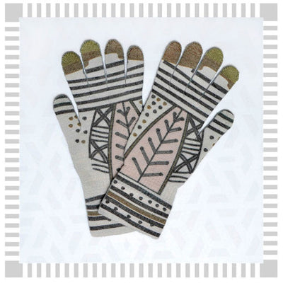 Guantes Touch Diaguita Negro