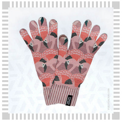 Guantes Touch Flamenco Chileno
