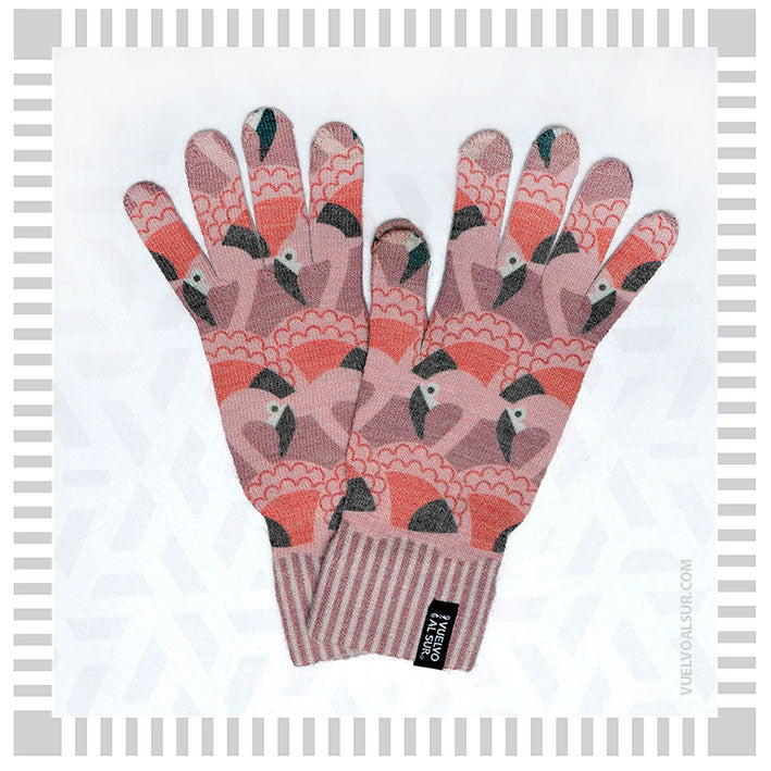 Guantes Print Flamenco Chileno