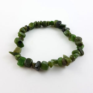 Jade Bracelet - Natural Jade Chips - The Jade Store