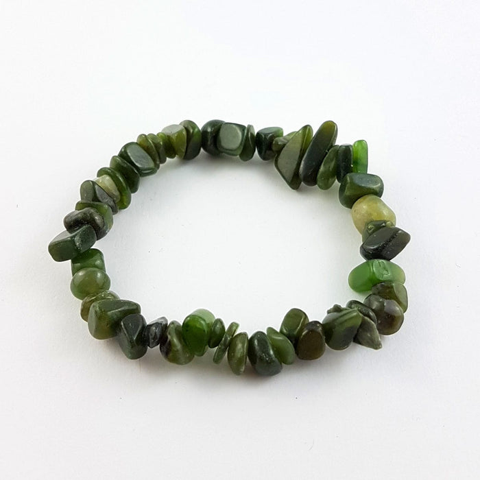 Jade Bracelet - Natural Jade Chips