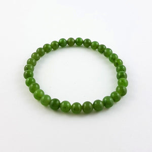 Jade Bracelet – 6mm Bead - The Jade Store