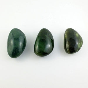 "Jade Massage Stone - 3"" Natural - The Jade Store"