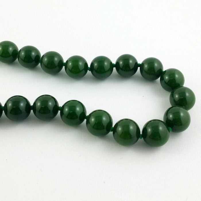 Jade Necklace - AA 10mm Beads