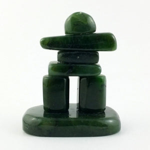 "Jade Inuksuk Polished 2"" - The Jade Store"