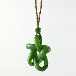 Jade Pendant Star Carved - The Jade Store