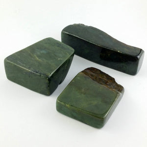 Jade Display Stone - Small Sized Rough Cut - The Jade Store