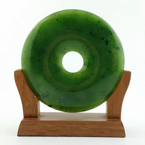 Jade Carving - 80mm Pi on Base - The Jade Store