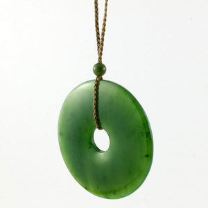 Jade Pendant - Pi 45mm - The Jade Store