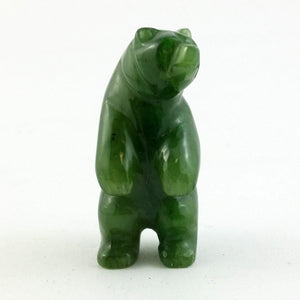 Jade Standing Bear 1.5″ - The Jade Store