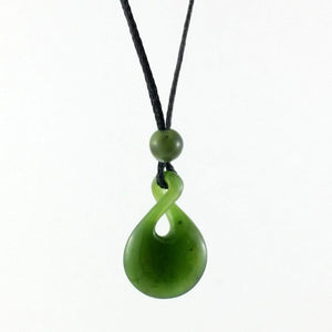 Jade Pendant Twist Small - The Jade Store