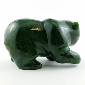 "Jade Bear - 5"" Walking Grizzly - The Jade Store"