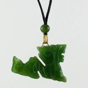 Jade Pendant - Dragon - The Jade Store