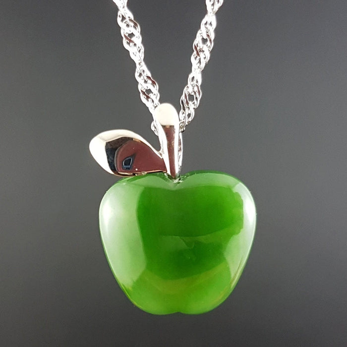 Jade Pendant - Apple
