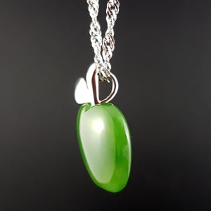 Jade Pendant - Apple - The Jade Store