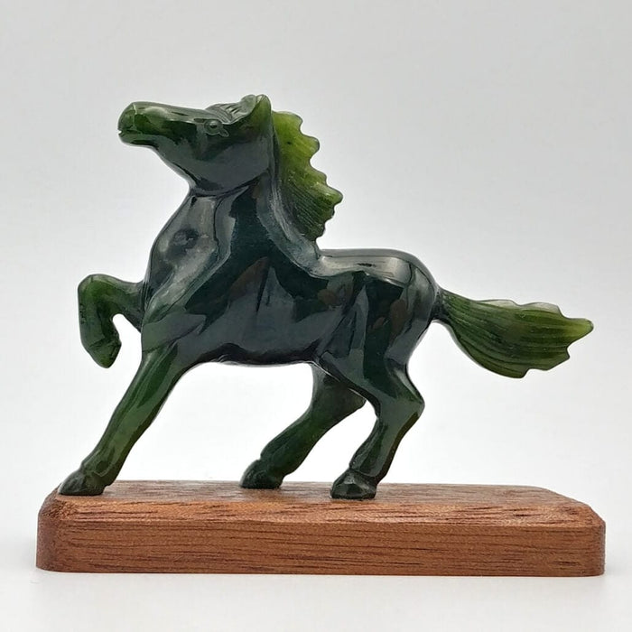 Jade Horse on Base 3""