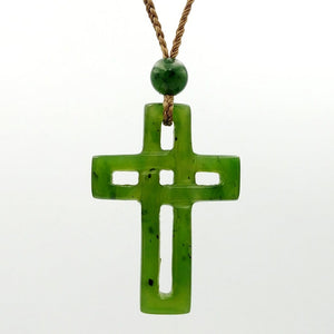 Jade Pendant - Cross Knot - The Jade Store