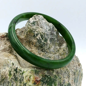 Jade Bangle - Narrow - The Jade Store