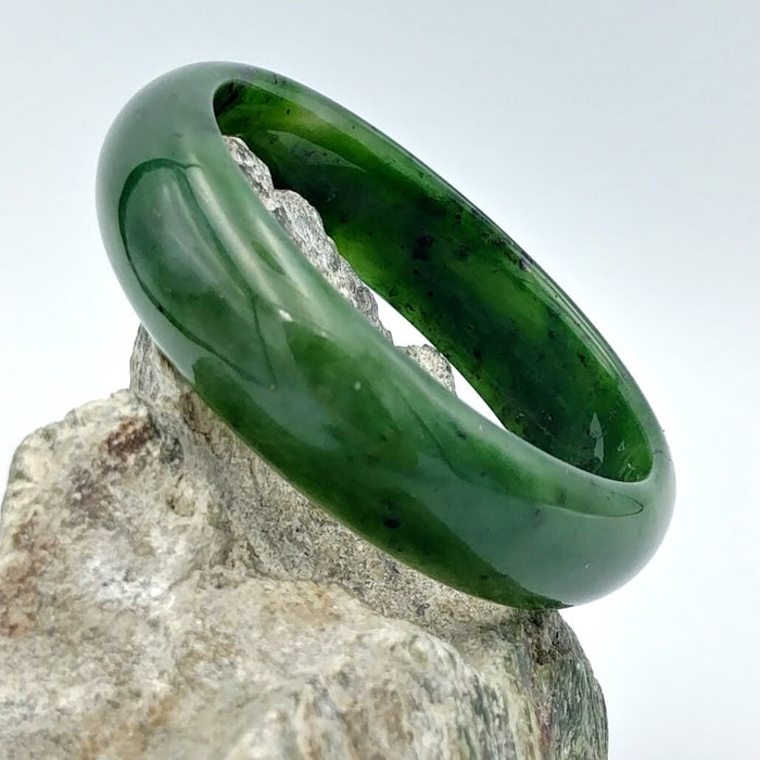Jade Bangle - Wide