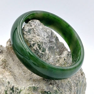Jade Bangle - Grade A Medium Width - The Jade Store