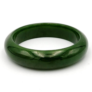 Jade Bangle - A+ Grade Medium Width - The Jade Store