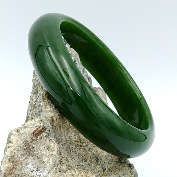 Jade Bangle - A+ Grade Medium Width