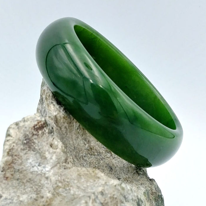 Jade Bangle - A++ Grade Wide