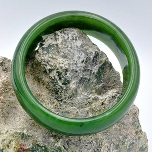 Jade Bangle - A++ Grade Wide - The Jade Store
