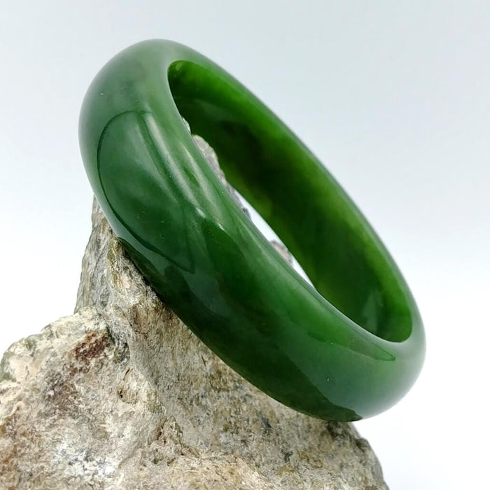 Jade Bangle - A++ Grade Medium Width