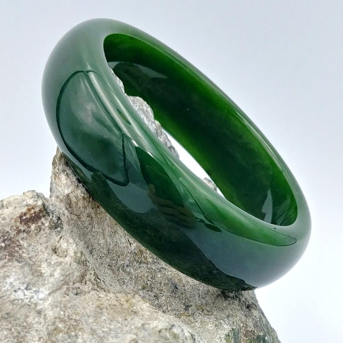Jade Bangle - AA Grade Wide