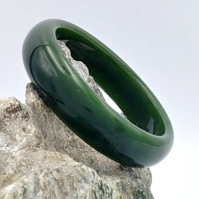 Jade Bangle - AA Grade Medium Width