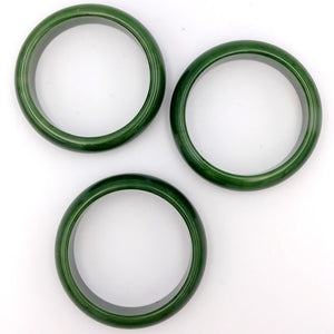 Jade Bangle - AA+ Grade Wide - The Jade Store