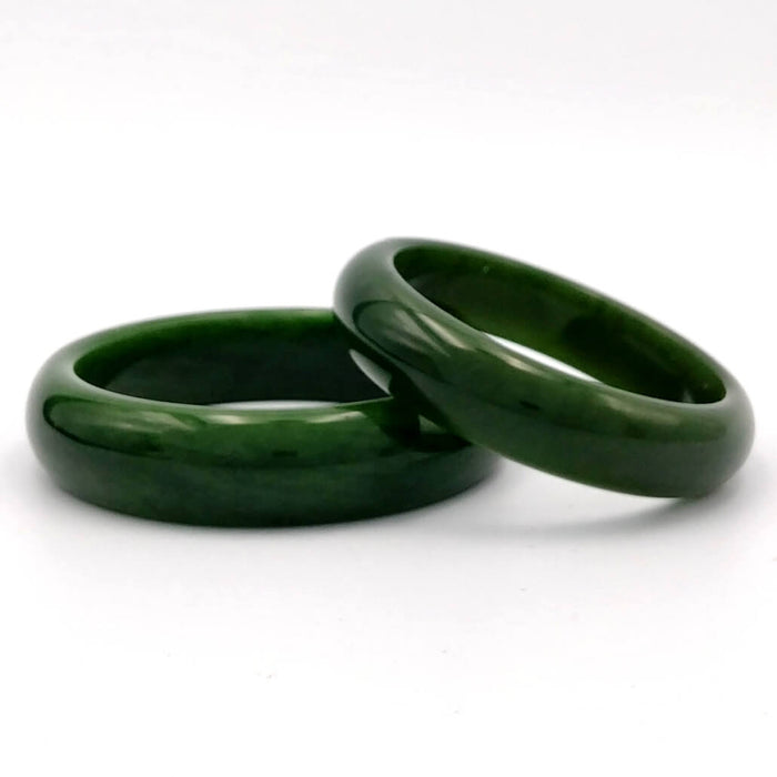 Jade Bangle - AA+ Grade Medium Width