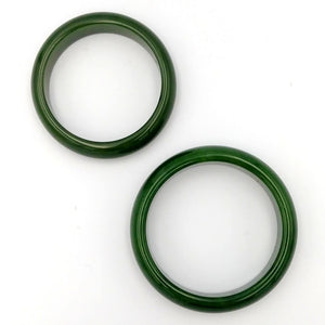 Jade Bangle - AA+ Grade Medium Width - The Jade Store
