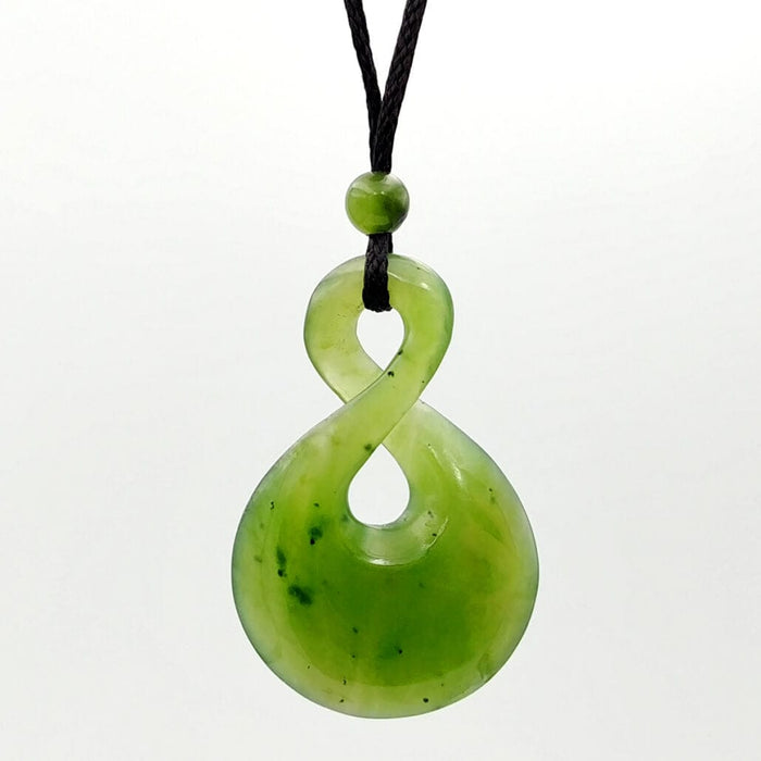 Jade Pendant Twist Large