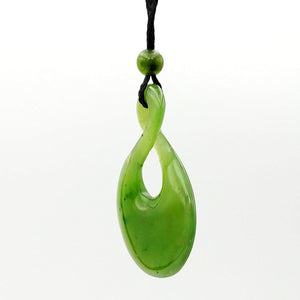 Jade Pendant Twist Large - The Jade Store