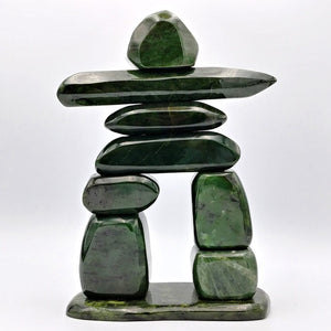 "Jade Inuksuk 12"" Polished - The Jade Store"