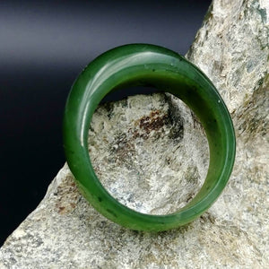 Jade Ring - Solid Dome Band - The Jade Store
