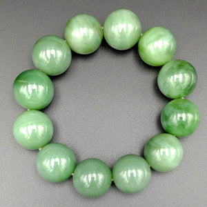 Jade Bracelet - 20mm Beads - The Jade Store