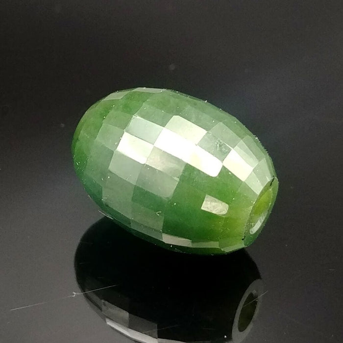 Jade Bead - Faceted
