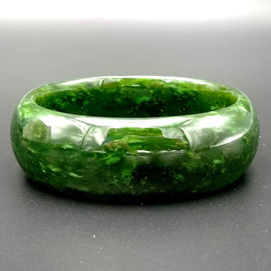 Jade Bangle - Oval - The Jade Store